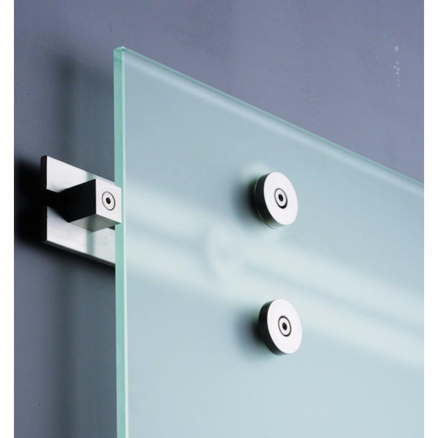 schiebet rsystem smk edelstahl f r glast ren bestehend aus ve 1 set bessler24 beschlaege. Black Bedroom Furniture Sets. Home Design Ideas