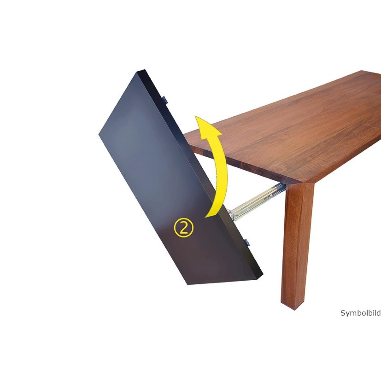 tisch auszug great jpg with tisch auszug kristalia tisch nori dekton mit auszug max x cm with. Black Bedroom Furniture Sets. Home Design Ideas
